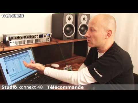 interface audio Studio Konnekt 48 de TC Electronic : télécommande Studio Kontrol