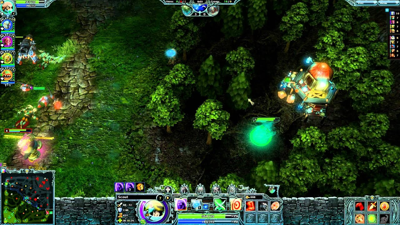Heroes of Newerth Guide to All Heroes Heroes of Newerth Scout