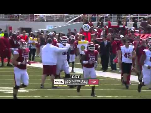 Arkansas Razorbacks Full Spring Football GAME HD 2014