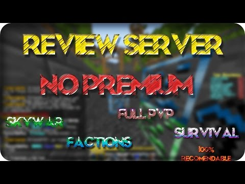 Review Server. NO PREMIUM   NewsCrafters 1.8 Y 1.9   Skywars. Survival. Full PvP. Y Factions + IP