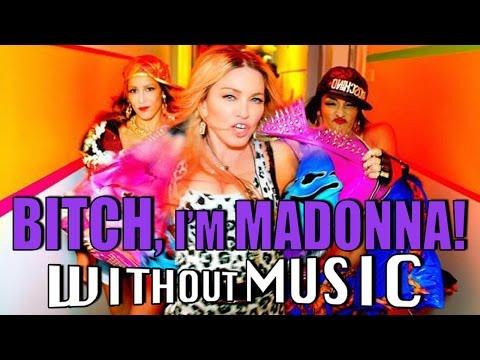 BITCH, I'M MADONNA - Madonna (House of Halo #WITHOUTMUSIC parody)