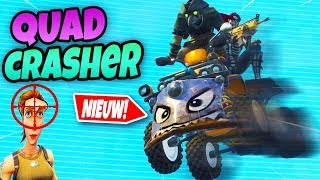 MEGA LEKKER QUADCRASHER EINDE! | Fortnite Battle Royale NL