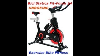 UnboXing de Bici Estatica de Fitness Modelo Fit-Force24