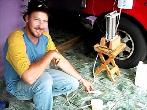 ranger funcionando a agua hidrogenio