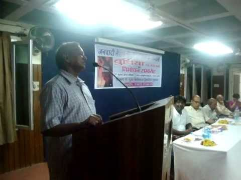 "Release of ""A Hindi Novel 'Budhiya, Ek Satyakatha', by P. B. Lomeo in Jhansi (U.P.) India"