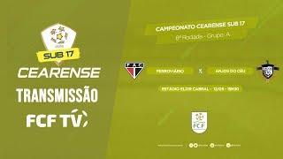 CAMPEONATO CEARENSE SUB - 17-  2019 - FERROVIÁRIO X ANJOS DO CÉU - 18/05/2019