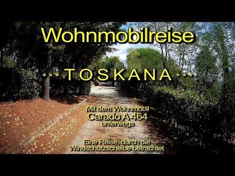 Wohnmobilreise – TOSKANA – Tag 09 – Durch die Windschutzscheibe betrachtet