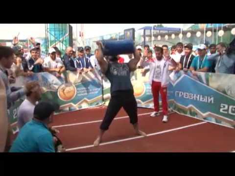 Висхан Мукуев Чемпион кавказских игр