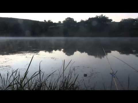 60  Рыбалка на Яновской плотине (Луганская область)