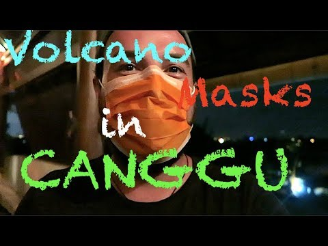 Volcano Masks in Canggu (CH1E13)