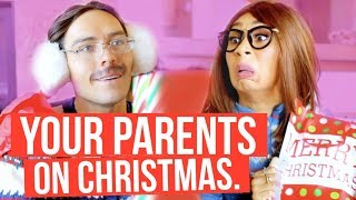 THINGS PARENTS DO ON CHRISTMAS | MyLifeAsEva