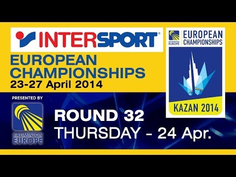 R32 - MS - Vladimir Ivanov vs Marc Zwiebler - 2014 INTERSPORT European C'ships