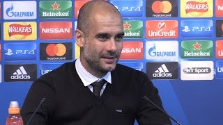 Manchester City 4-0 Borussia Monchengladbach - Pep Guardiola Full Post Match Press Conference