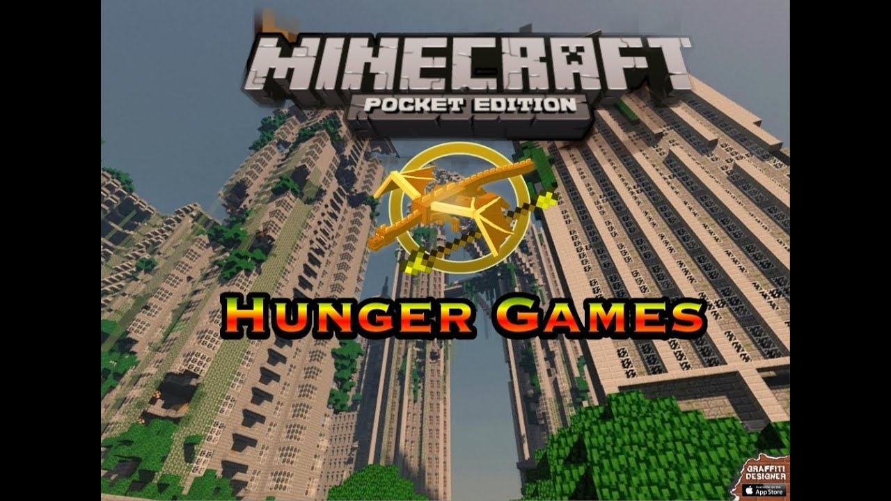how to download minecraft hunger games on pe - Minecraft PE Hunger ...