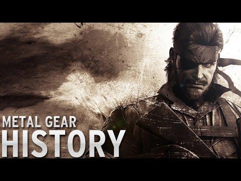 History of - Metal Gear (1987-2015)