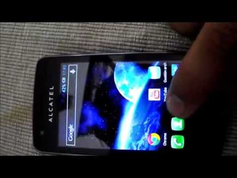 Alcatel One touch 4030A S'POP Review Español