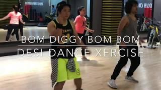 BOM DIGGY BOM BOM BOM   DESI DANCE XERCISE   DESI DX   ANSAR KHAN