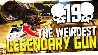 I Dropped 19 Kills w/ the WEIRDEST Legendary Variant Gun on the GAME! - PS4 Apex Legends
