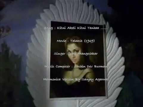 Kitni  Akeli  Kitni  Tanhaa ....... Talash (1969)