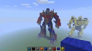 Minecraft - Optimus Prime V2