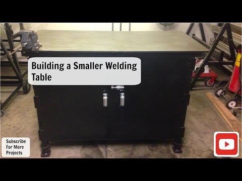 Building A Smaller Welding Table (Work Bench)