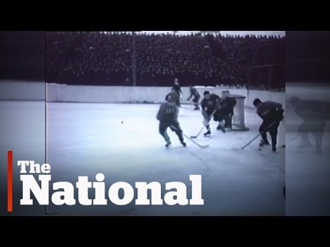 Cold War hockey rivalry