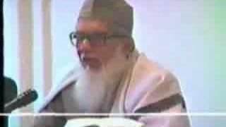 Maulana Abul Hasan Ali Nadwi in Lister, England 3/4