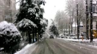 برف بهاری  لاهیجان ۱۱فروردین ۱۳۹۳