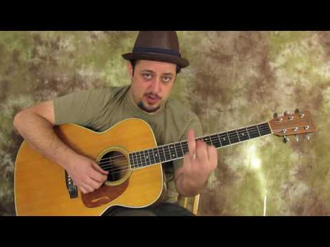Acoustic Blues - Solo Lesson - How To Build A Solo