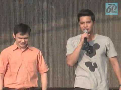 ABS-CBN 60 Years : Zanjoe Marudo & Patrick Garcia Dance Whoops Kiri at GKW