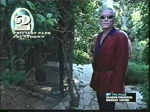 Playboy Mansion - Mtv Cribs - Hugh Hefner video