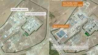 Iran's Arak heavy water nuclear reactor