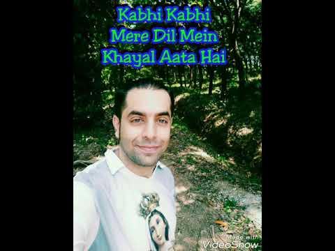 Kabhi Kabhi Mere Dil Mein Short Cover | Rahul Shetty | Kabhi Kabhie ❤️