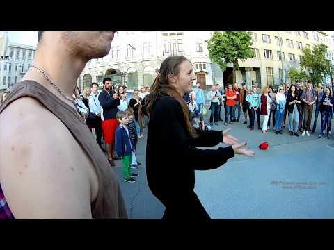 Харьков, Ночь музеев, 19 мая 2018, 7, танцы возле памятника Шевченко