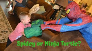 Spidey or Ninja Turtle? 'Princess Party Storytimes' (Episode 25)