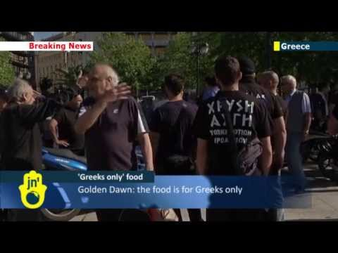 Racist Athens Easter Aid: Greece's Far Right Golden Dawn offer Easter aid 'for Greeks only'