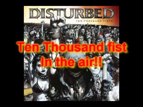 Opinion you Ten thousand fist by disturbed talented message