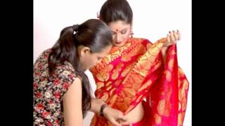 How to wear Mekhela Chadar