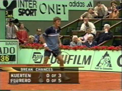Kuerten vs フェレーロ 2001 全仏オープン pt.3 of 7