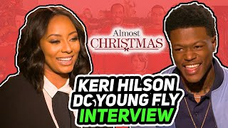"ES Archive ""Almost Christmas"" DC Young Fly & Keri Hilson interview"
