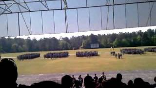 Basic combat training  graduation april 16 2010 fort jackson south carolina