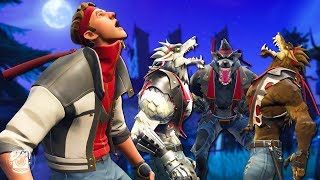 DIRE JOINS THE WOLFPACK! *ALL WEREWOLVES* - A Fortnite Short Film