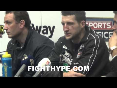 CARL FROCH DISCUSSES FUTURE PLANS EYES MEGAFIGHT IN LAS VEGAS