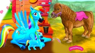 Rainbow Dash Baby + Jumping - Let's Play Online Horse Games -Thank You 50,000 Subbies