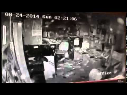 Raw Video - Surveillance Camera of South Napa Quake