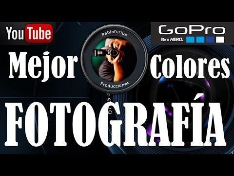 Como MEJORAR colores a fotos de GoPro con Nikon WiewNX 2 Español @Pablofurius