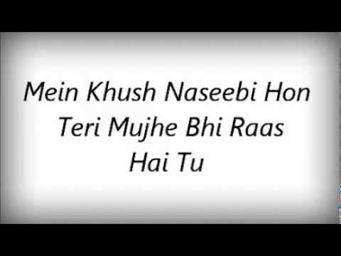 Tera Libaas Hoon Mein Aur Mera Libaas Hai Tu's Lyrics video