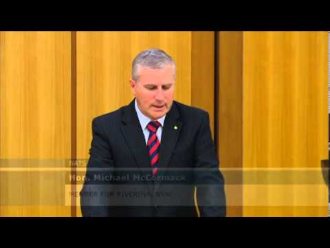 Michael McCormack  pays tribute to Cpl Cameron Baird VC