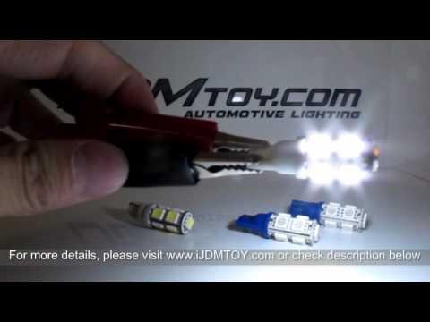9-SMD 5050 T10 LED Parking Lights on 2012 Nissan Juke