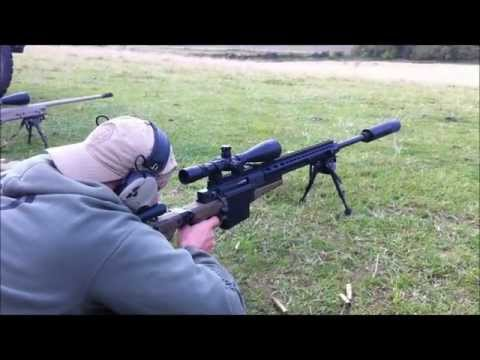 Accuracy International AX .338 Lapua SUPPRESSED